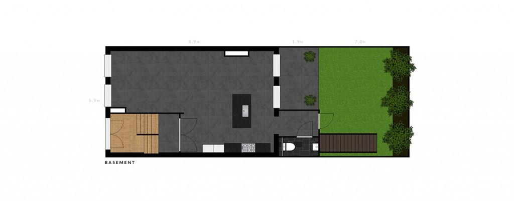 2e De Riemerstraat basement