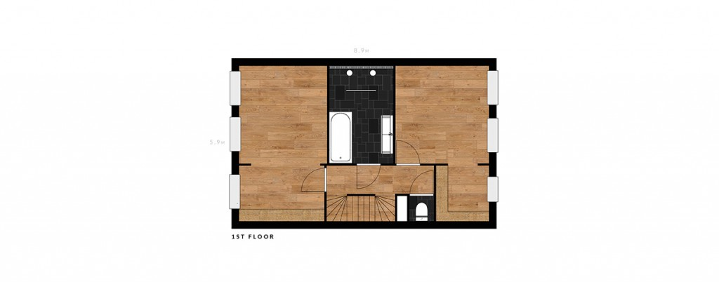 2e De Riemerstraat first floor