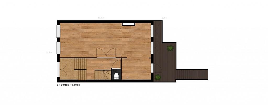 2e De Riemerstraat ground floor