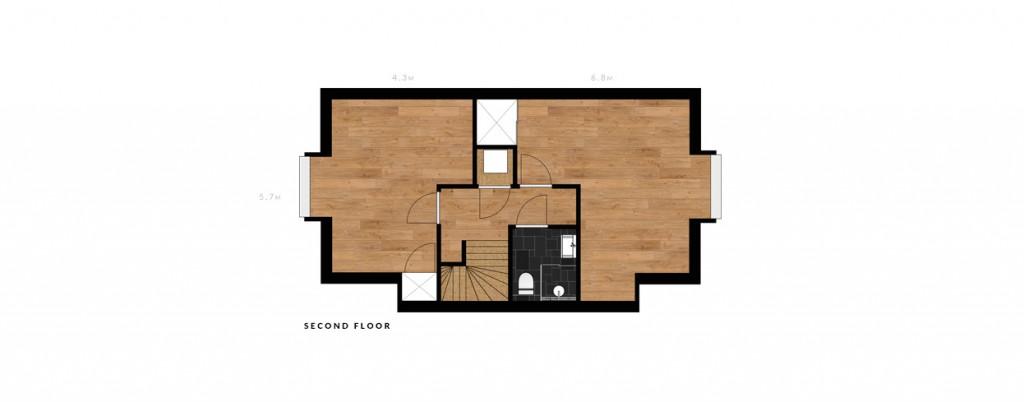 Jacob van der Doesstraat second floor