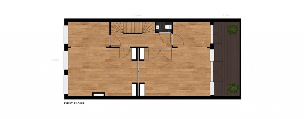 Nassau Dillenburgstraat first floor