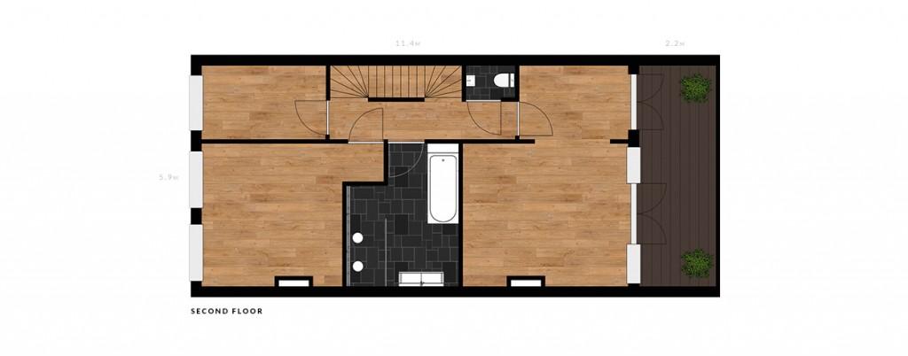 Nassau Dillenburgstraat second floor